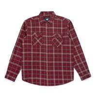 Adventure Shirt Redwine Plaid