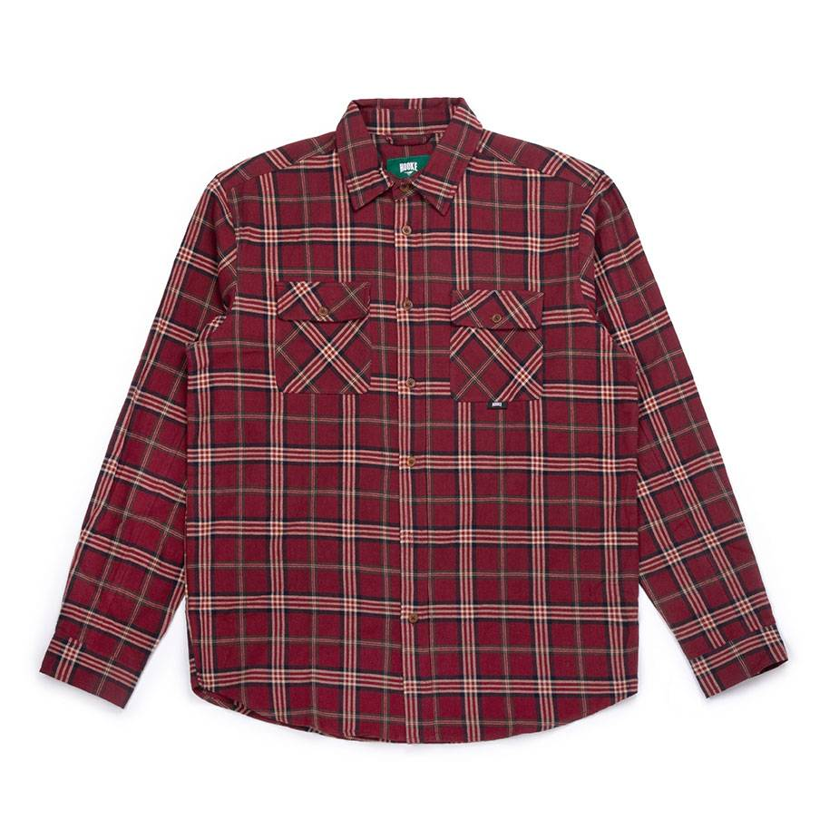 Adventure Shirt Redwine