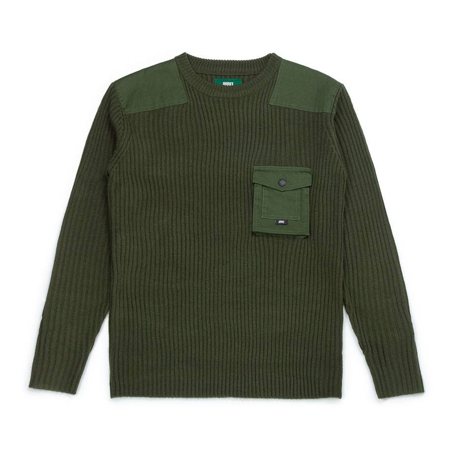 Wilderness Sweater Green