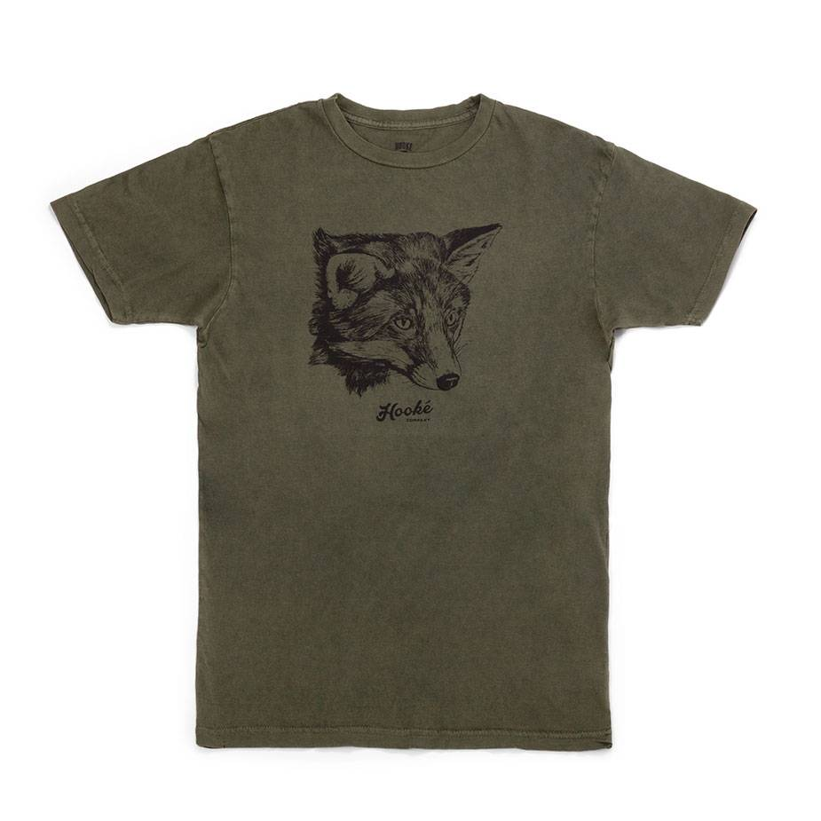 Women's Fox T-Shirt Olive