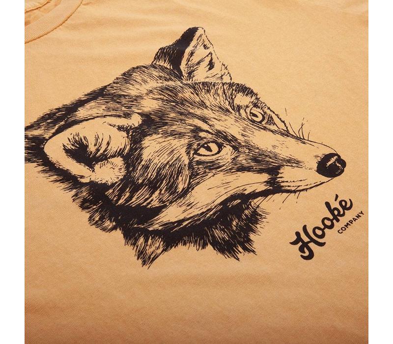 Women's Fox T-Shirt Vintage Mustard