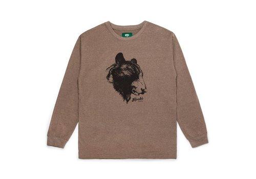 Bear Long Sleeve T-Shirt Brown