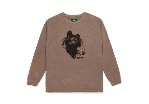 T-Shirt Bear Manches Longues Brun