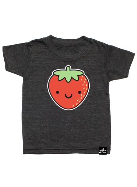 Whistle & Flute Whistle & Flute - Strawberry T-Shirt S/S