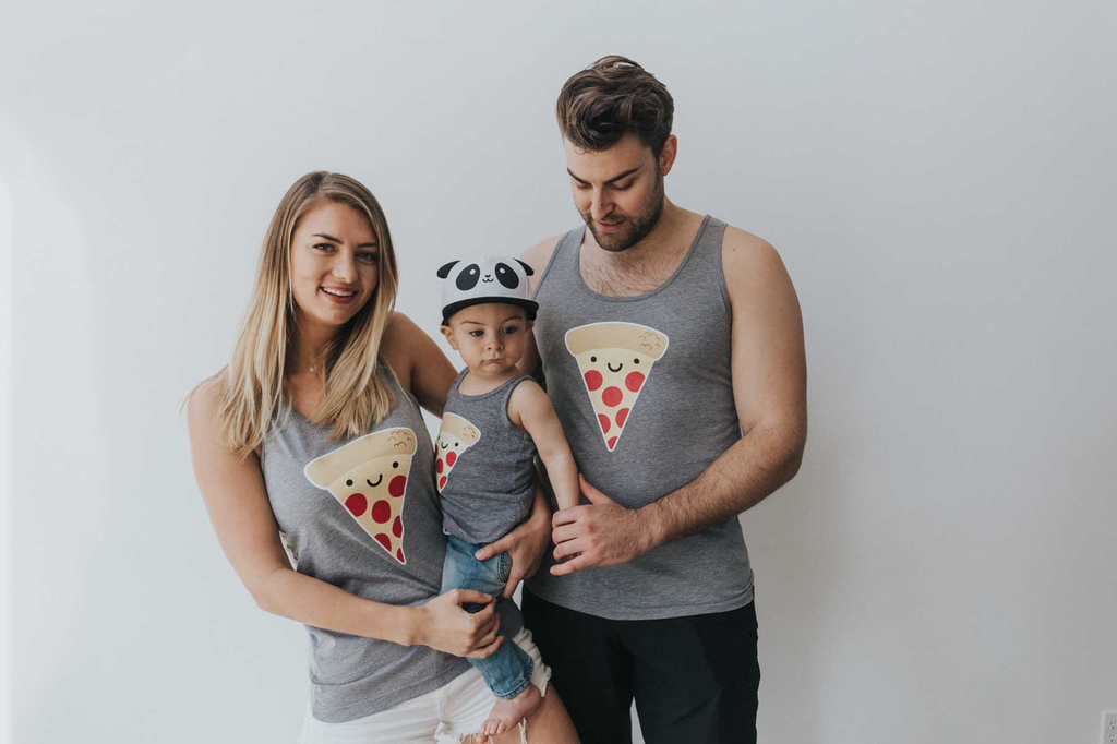 Whistle & Flute - Pizza Tanktop