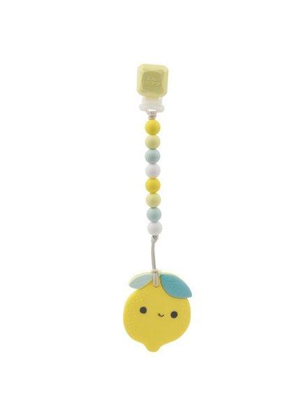 Loulou Lollipop Loulou Lollipop - Lemon Teether Set
