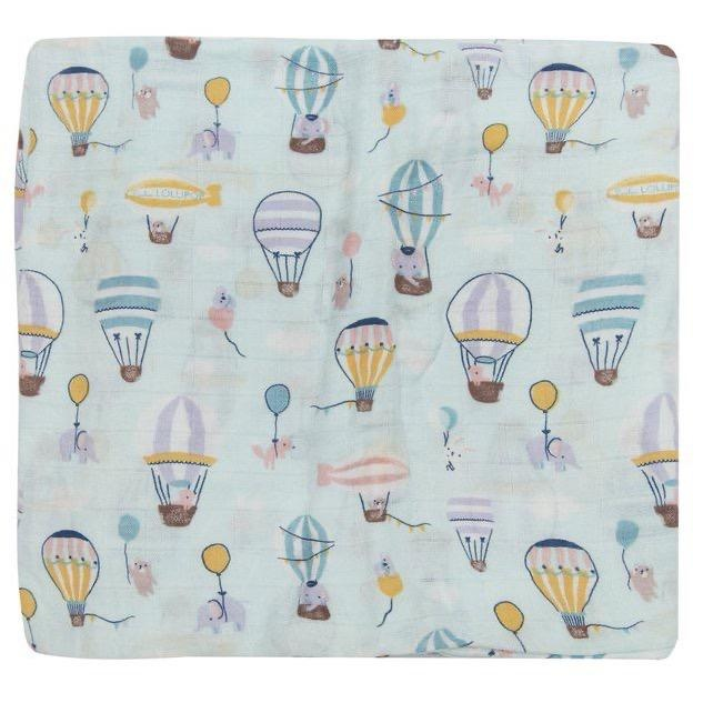 Loulou Lollipop Loulou Lollipop - Up Up Away Blanket