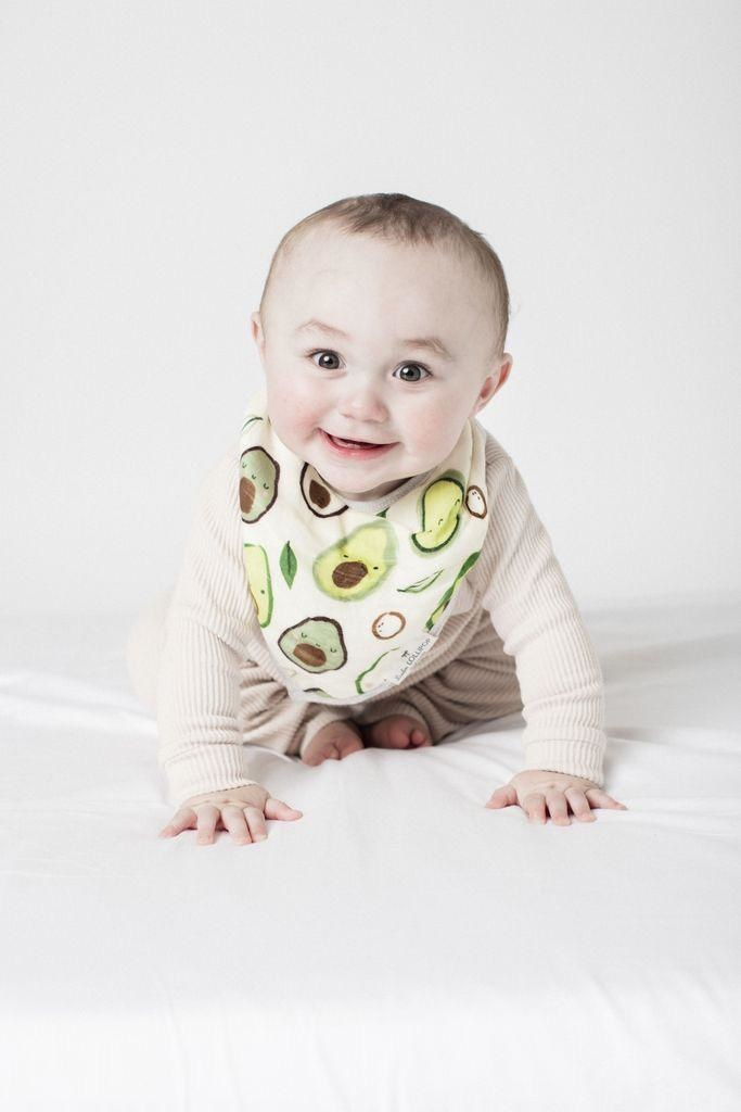 Loulou Lollipop Loulou Lollipop - Avocado Bib Set