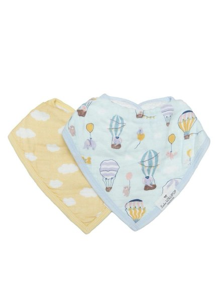 Loulou Lollipop Loulou Lollipop - Up Up Away Bib Set
