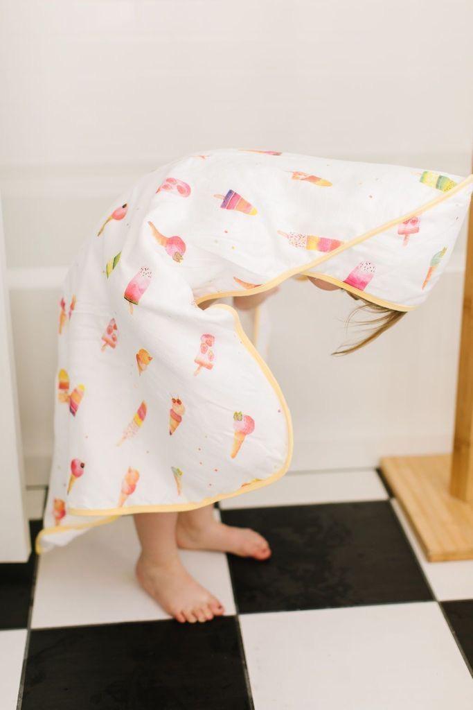 Loulou Lollipop Loulou Lollipop - Ice Cream Towel Set