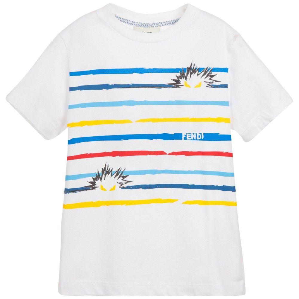 5c1981ba69928 Fendi Kids - Boy s T-Shirt - Adore