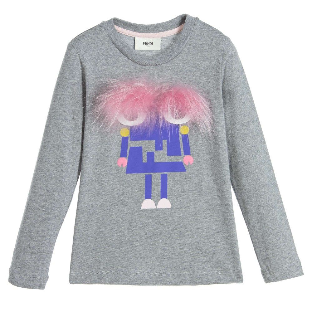 de254c5e703c Fendi Kids - Girl s T-Shirt - Adore