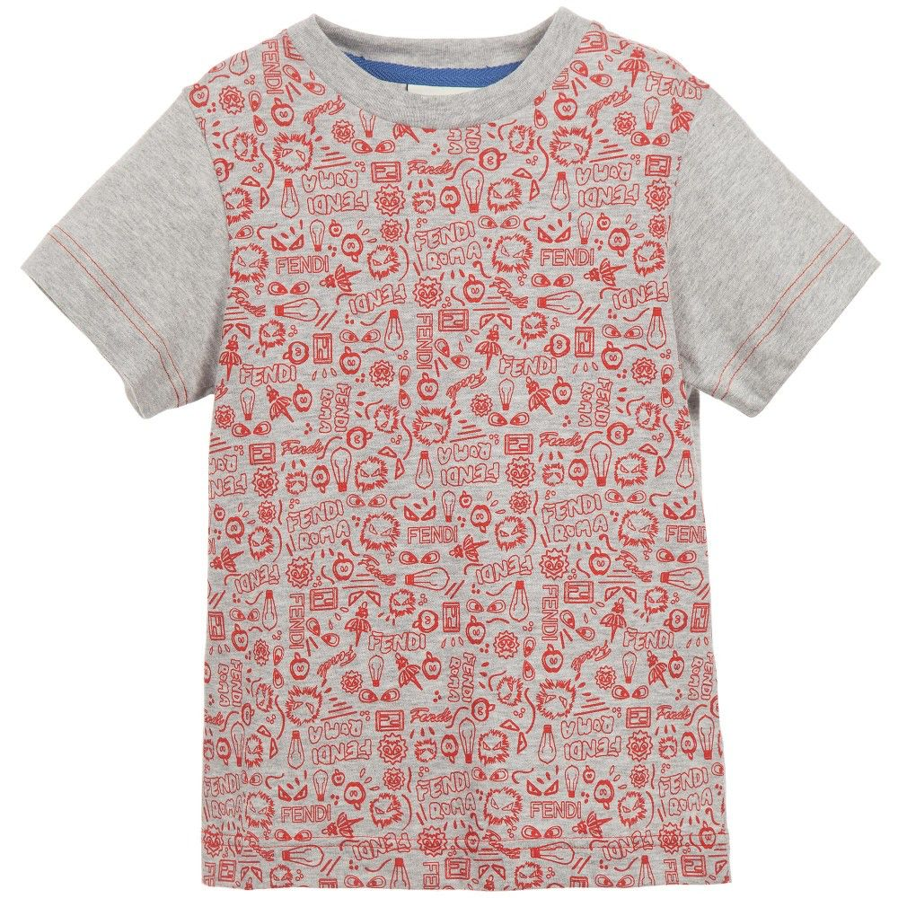 00091c91d1ec Fendi Kids - Boy s T-Shirt - Adore
