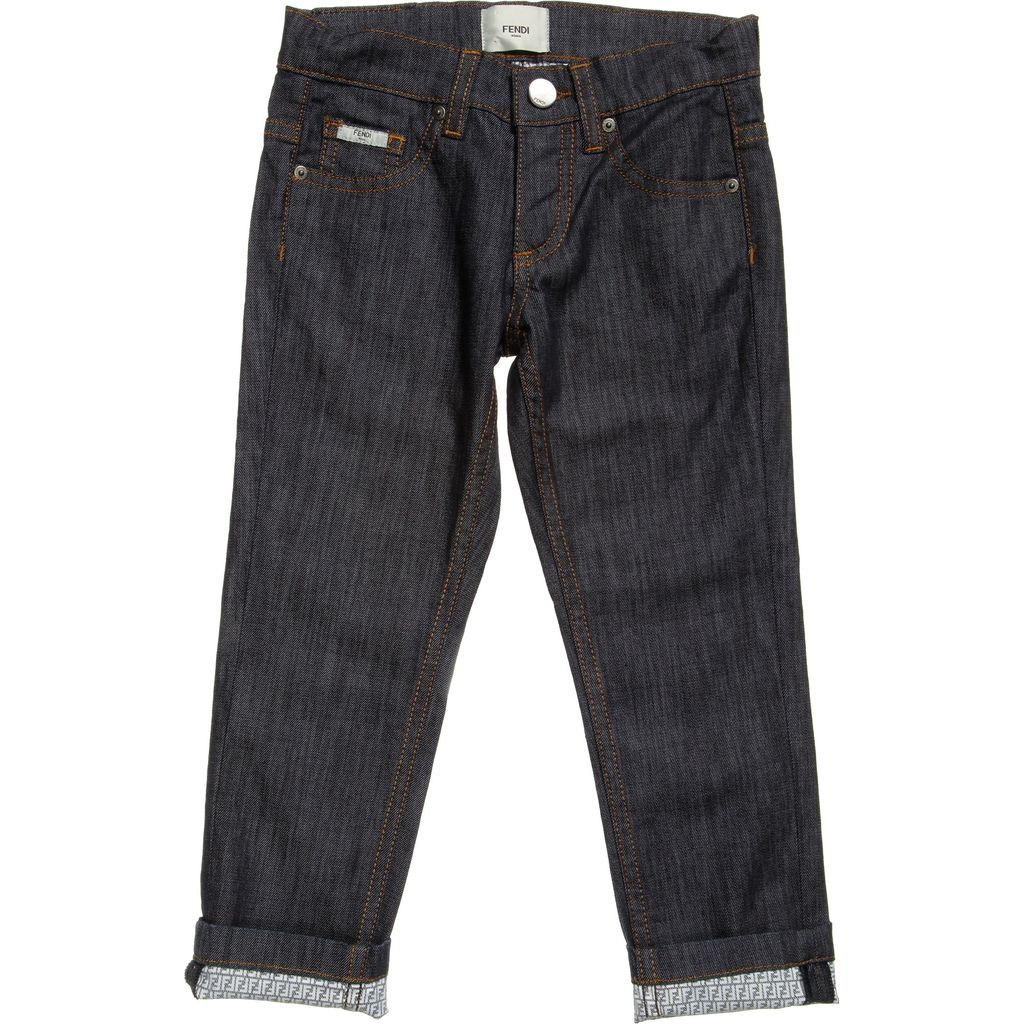 37c04f754fd9 Fendi Kids - Boy s Denim Jeans - Adore