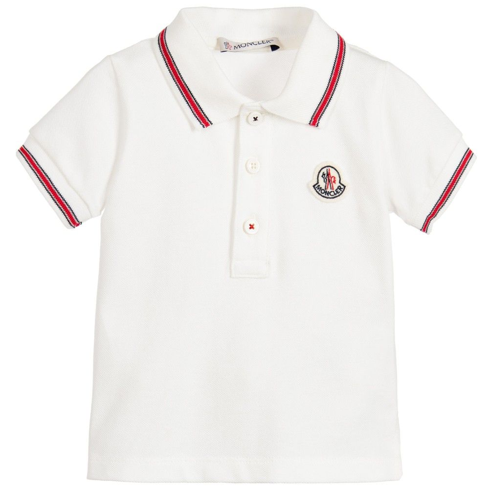 7d626fc79c9c Moncler Kids - Boy s Short Sleeve Polo