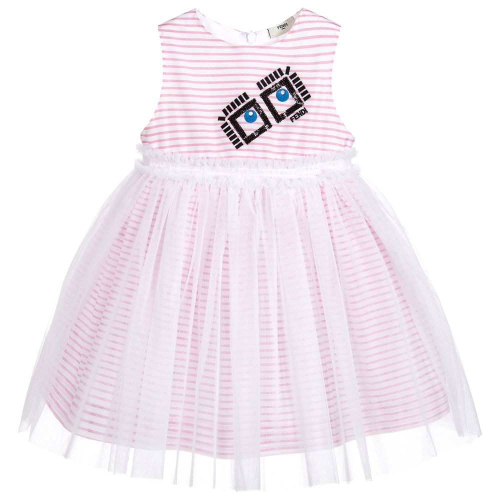 76ac326919feb Fendi Kids - Girl s Dress - Adore