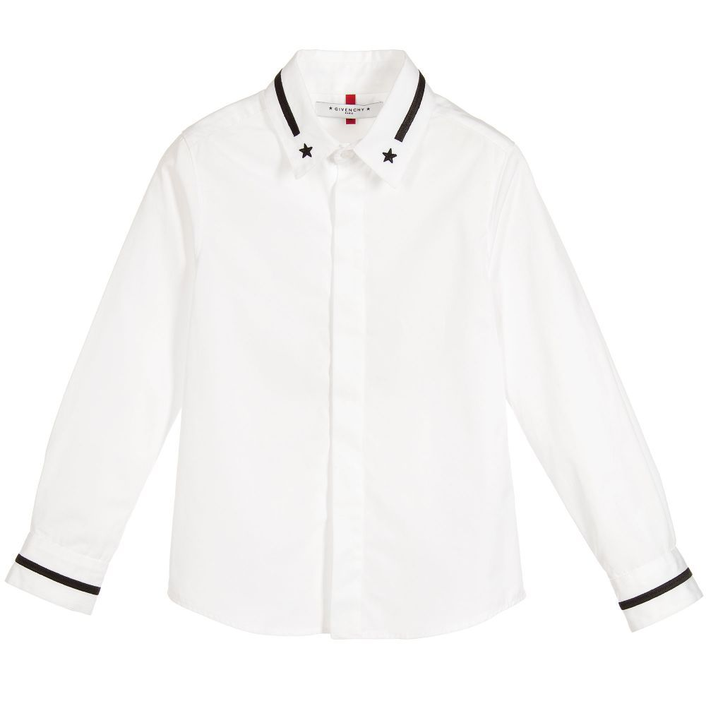 dd560c720 Givenchy - Boy's Long Sleeve Dress Shirt - Adore