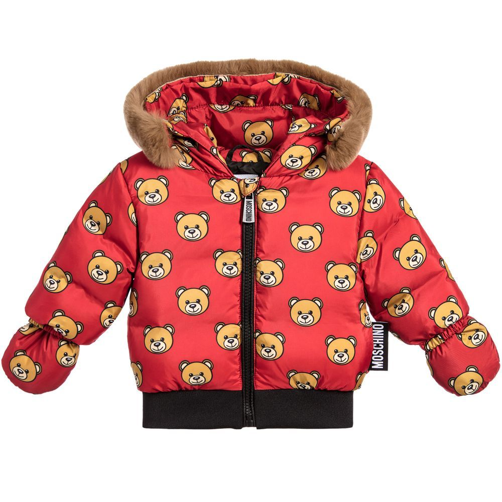 db806bb6d9b6 Moschino - Unisex Toddler Jacket - Adore