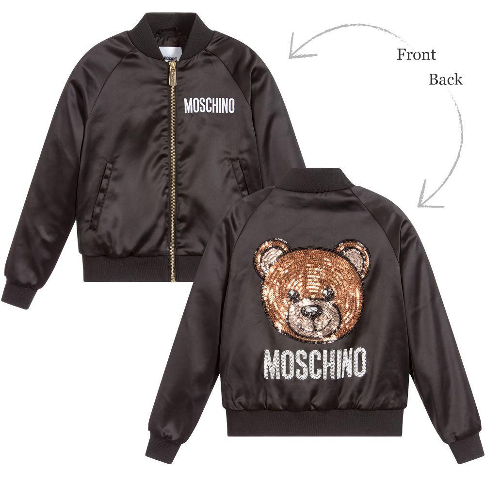 67f67fc4 Moschino - Girl's Jacket - Adore