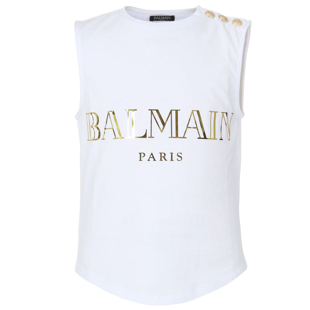 Balmain Balmain - Sleeveless Shirt