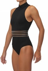 PUALANI ROYAL-HI NECK ONE PIECE