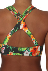PUALANI HIGH NECK HALTER TOP