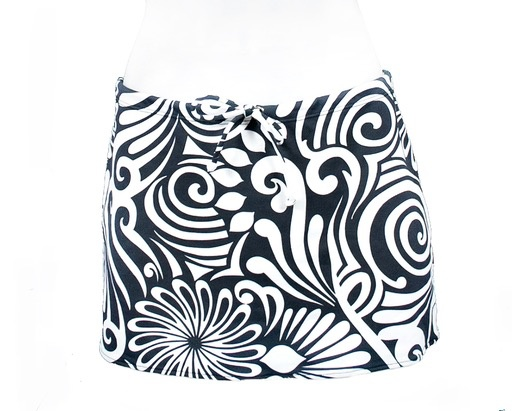 PUALANI SHORT DRAWSTRING SKIRT