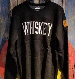 Sweater - Black Knit Whiskey