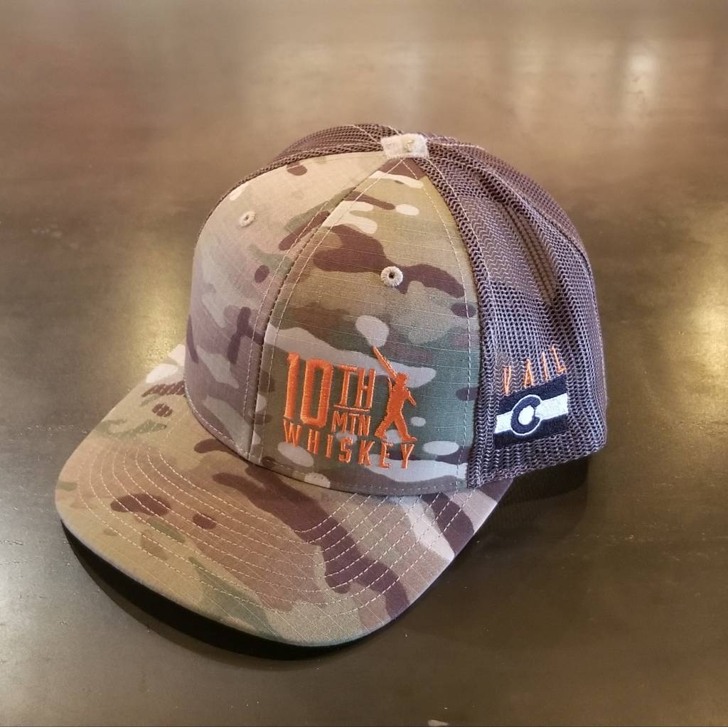 10th Mountain Whiskey & Spirit Co. Hat - Camo