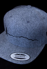 Hat Grey Walking Man