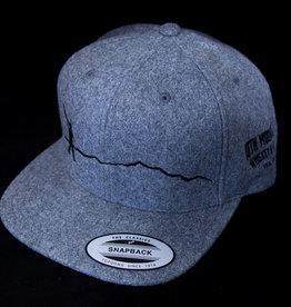 10th Mountain Whiskey & Spirit Co. Hat Grey Walking Man