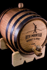10th Mountain Whiskey & Spirit Co. 3 Liter Whiskey Barrel
