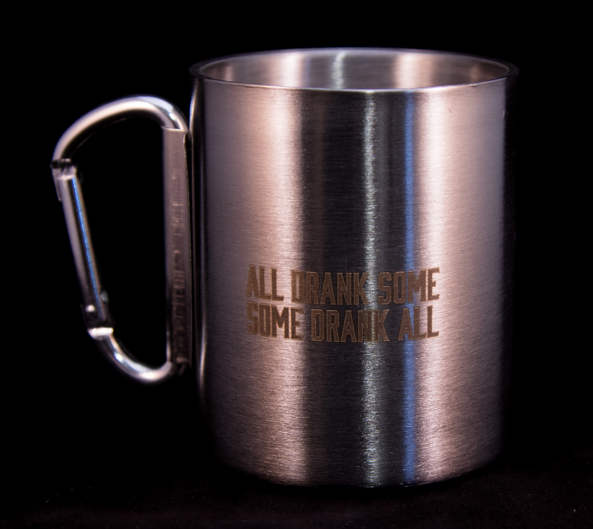 10th Mountain Whiskey & Spirit Co. Carabiner Coffee Cup