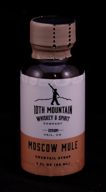 10th Mountain Whiskey & Spirit Co. Moscow Mule Cocktail Syrup