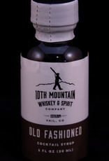 10th Mountain Whiskey & Spirit Co. Old Fashioned Cocktail Syrup