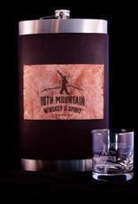 10th Mountain Whiskey & Spirit Co. Flask - 2 bottle