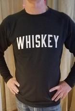 Whiskey Tee - Men's Black Long Sleeve