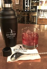 10th Mountain Whiskey & Spirit Co. Stainless Steel Shaker