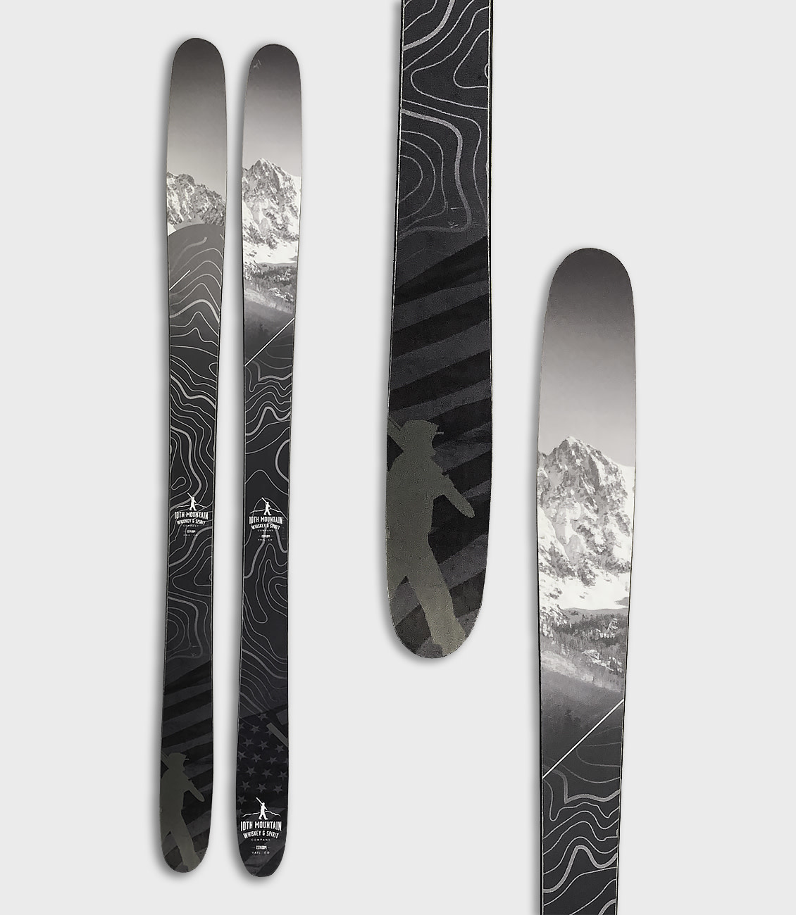 10th Mountain Whiskey & Spirit Co. Ski Raffle