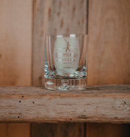 10th Mountain Whiskey & Spirit Co. Crystal Rocks Glass Barrel