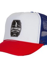Foam Trucker Hat (Red/White/Blue)