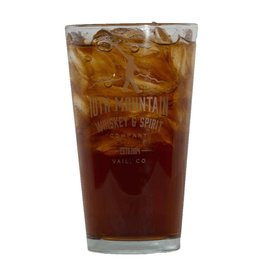 10th Mountain Whiskey & Spirit Co. Pint Glass
