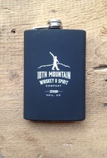 10th Mountain Whiskey & Spirit Co. Rubber Flask