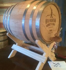 10th Mountain Whiskey & Spirit Co. 5 Gallon Logo'd Whiskey Barrel