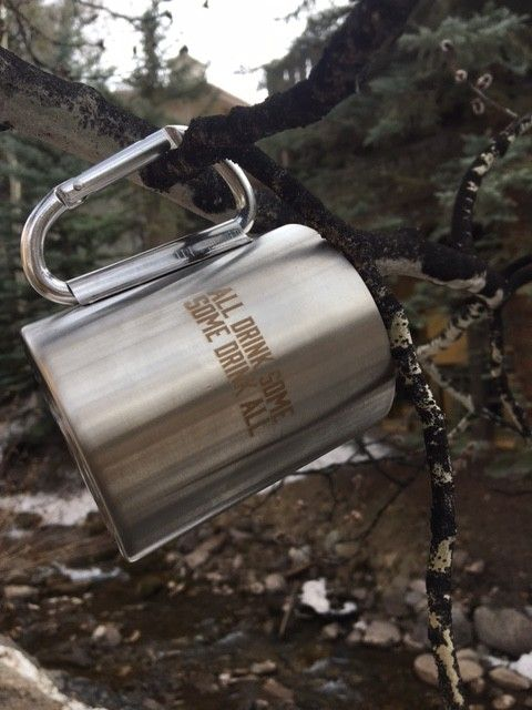 Carabiner Coffee Cup