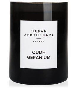 URBAN APOTHECARY LARGE SCENTED CANDLE : OUDH GERANIUM