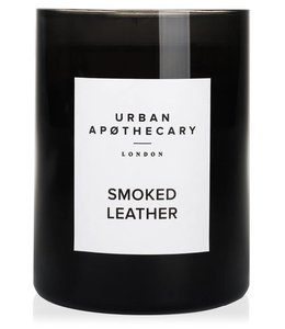 URBAN APOTHECARY LARGE SCENTED CANDLE : SMOKED LEATHER