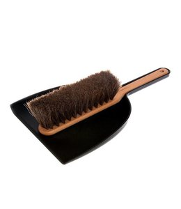 DUSTPAN + BRUSH SET   :   BLACK