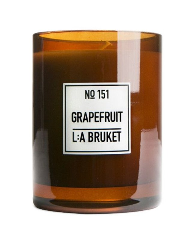 LA BRUKET SCENTED CANDLE   :   GRAPEFRUIT