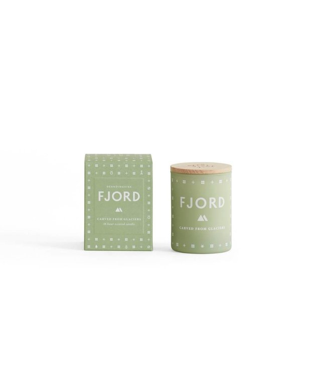 SKANDINAVISK SMALL SCENTED CANDLE   :   FJORD